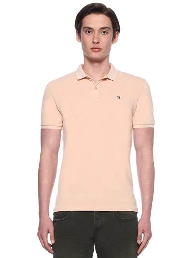 Scotch & Soda Polo Yaka Tişört Somon